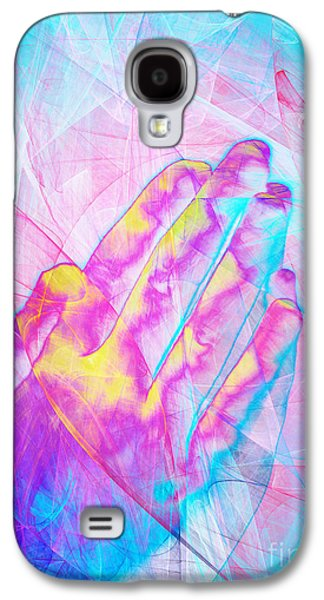 Praying Hands Galaxy S4 Cases - Praying Hands 20150302v1 Galaxy S4 Case by Wingsdomain Art and Photography