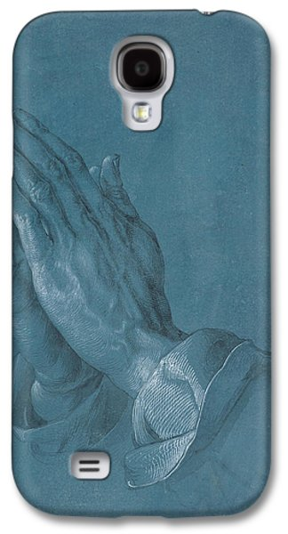 Praying Hands Galaxy S4 Cases - Praying Hands Galaxy S4 Case by Albrecht Durer