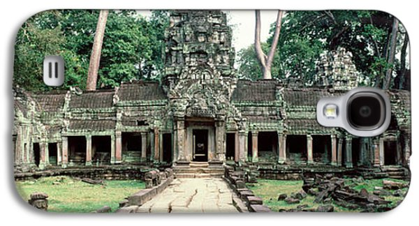 Religious Galaxy S4 Cases - Preah Khan Temple, Angkor Wat, Cambodia Galaxy S4 Case by Panoramic Images