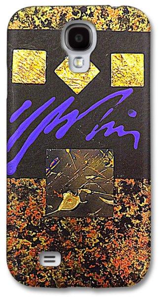 Darren Mixed Media Galaxy S4 Cases - Precious Metal Galaxy S4 Case by Darren Robinson