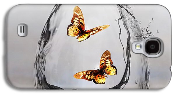 Awareness Galaxy S4 Cases - Precious Galaxy S4 Case by Photodream Art
