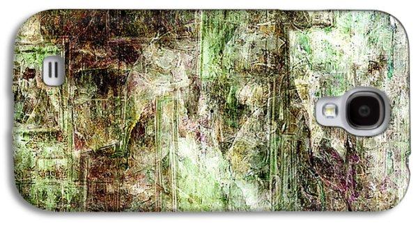 Abstract Digital Digital Art Galaxy S4 Cases - Precipice - Abstract Art Galaxy S4 Case by Jaison Cianelli