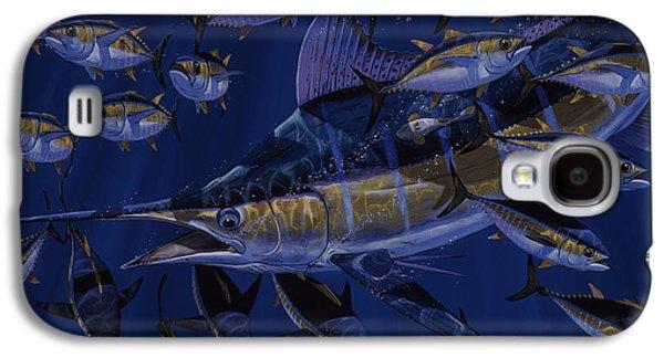 Marlin Azul Galaxy S4 Cases - Premonition Off0063 Galaxy S4 Case by Carey Chen