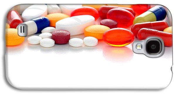 Pill Galaxy S4 Cases - Prescriptions Galaxy S4 Case by Olivier Le Queinec