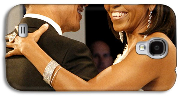 Michelle Obama Galaxy S4 Cases - President and Michelle Obama Galaxy S4 Case by Official Government Photograph