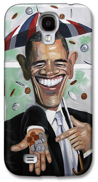 Obama Galaxy S4 Cases - President Barock Obama Change Galaxy S4 Case by Anthony Falbo