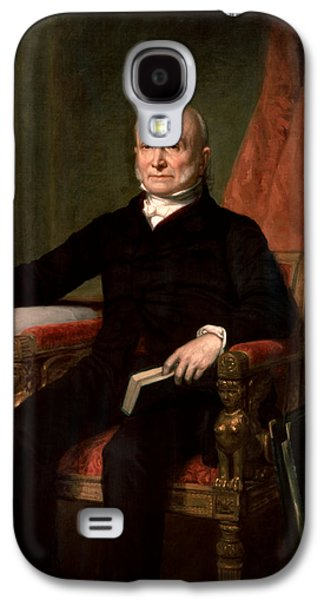 President John Quincy Adams  Galaxy S4 Case by War Is Hell Store
