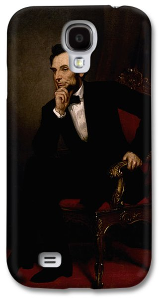 The Americas Galaxy S4 Cases - President Lincoln  Galaxy S4 Case by War Is Hell Store