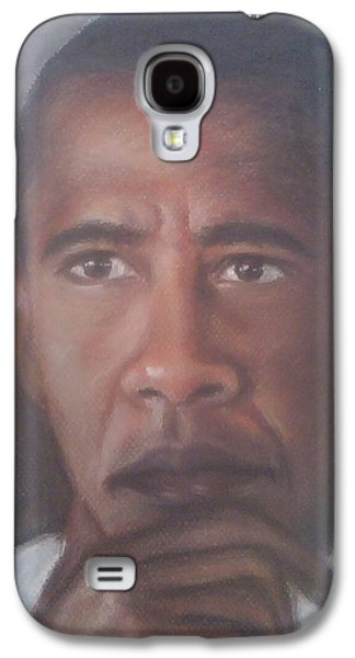 Barrack Obama Galaxy S4 Cases - President Obama  Galaxy S4 Case by Ronnie Melvin