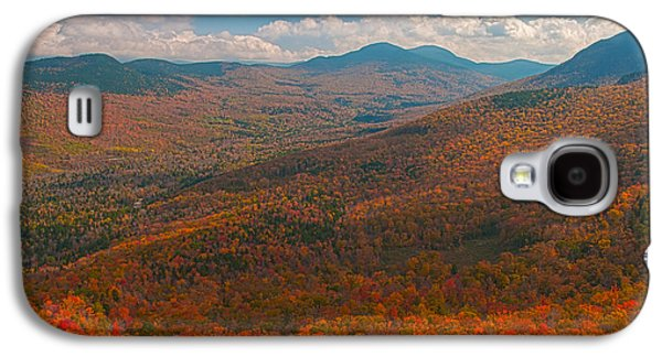 Munroe Galaxy S4 Cases - Presidential Range in Autumn Galaxy S4 Case by Brenda Jacobs