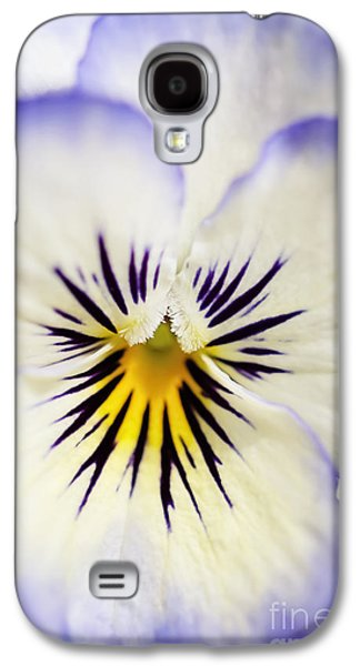 Sorbet Galaxy S4 Cases - Pretty Pansy Close Up Galaxy S4 Case by Natalie Kinnear