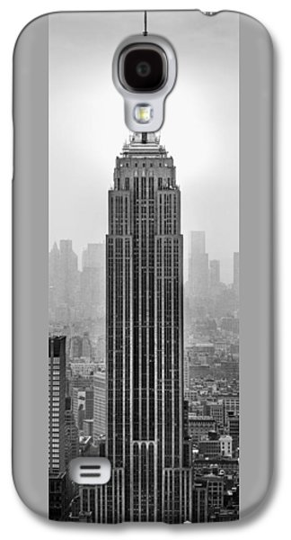 Skylines Photographs Galaxy S4 Cases - Pride Of An Empire Galaxy S4 Case by Az Jackson