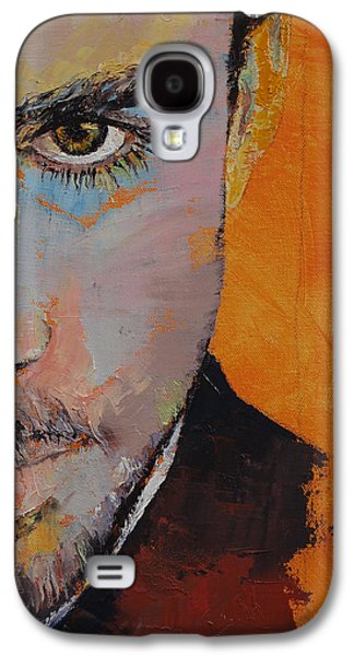Tangerines Galaxy S4 Cases - Priest Galaxy S4 Case by Michael Creese