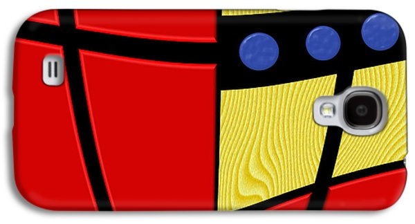 Color Block Galaxy S4 Cases - Primary Motivations 2 Galaxy S4 Case by Wendy J St Christopher