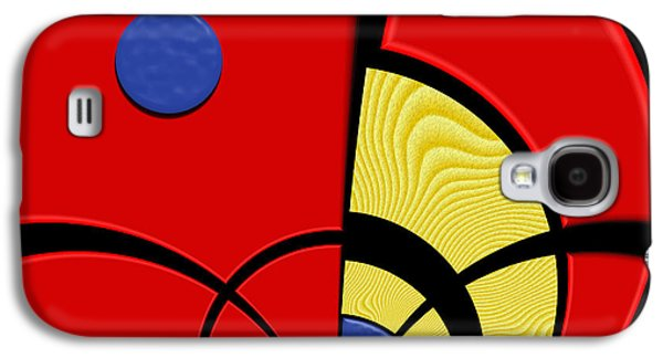 Color Block Galaxy S4 Cases - Primary Motivations 3 Galaxy S4 Case by Wendy J St Christopher