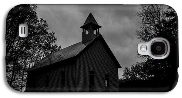 Creepy Galaxy S4 Cases - Primitive Church Galaxy S4 Case by Sherri Duncan