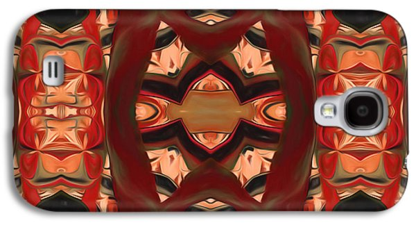 Youthful Galaxy S4 Cases - Primitive Connections Galaxy S4 Case by Georgiana Romanovna