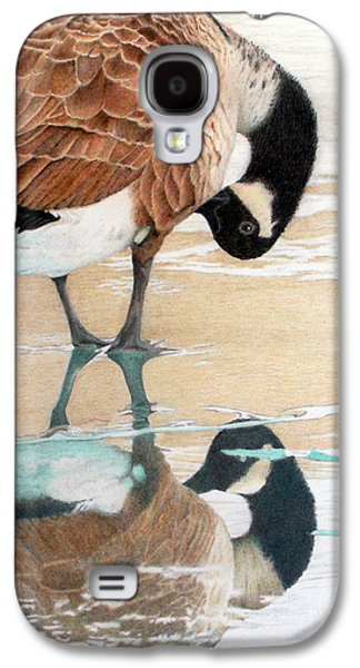 Animals Jewelry Galaxy S4 Cases - Primping in the Mirror Galaxy S4 Case by Patty Poole