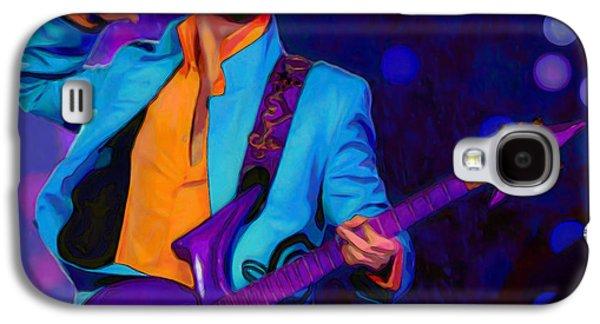 Shirt Digital Galaxy S4 Cases - Prince 3 Galaxy S4 Case by  Fli Art