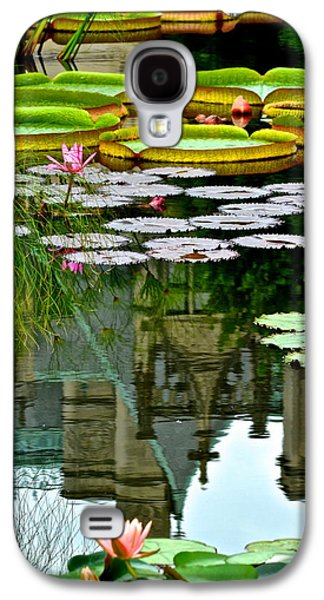Lilly Pad Galaxy S4 Cases - Prince Charmings Lily Pond Galaxy S4 Case by Frozen in Time Fine Art Photography