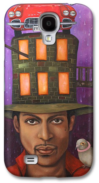 Crying Paintings Galaxy S4 Cases - Prince Galaxy S4 Case by Leah Saulnier The Painting Maniac