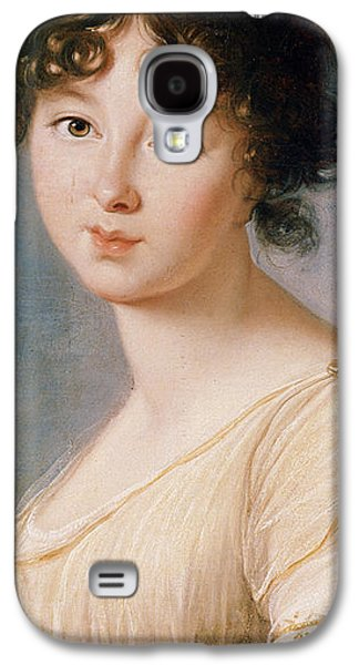 Half-length Galaxy S4 Cases - Princess Aniela Angelique Czartoryska nee Radziwill Galaxy S4 Case by Elisabeth Louise Vigee-Lebrun