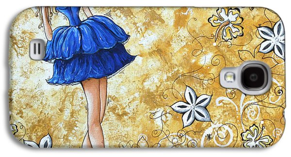 Strapless Dress Galaxy S4 Cases - PRINCESS by MADART Galaxy S4 Case by Megan Duncanson