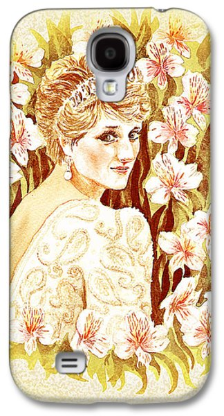 Catherine Galaxy S4 Cases - Princess Diana Galaxy S4 Case by Irina Sztukowski