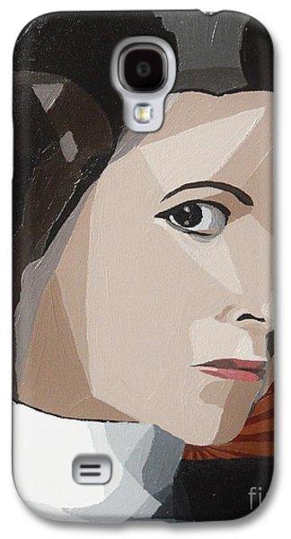 Star Alliance Galaxy S4 Cases - Princess Leia Galaxy S4 Case by Ellen Nicole Allen
