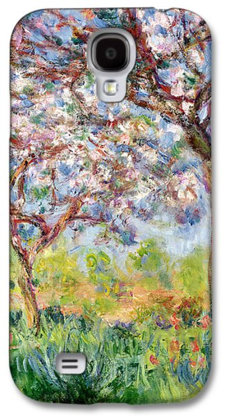 Reproduction Galaxy S4 Cases - Printemps a Giverny Galaxy S4 Case by Claude Monet