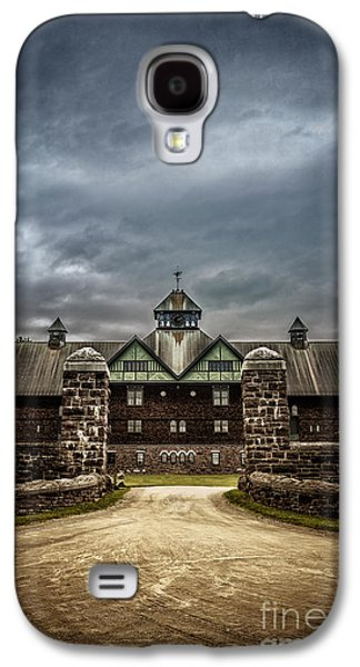 Weathervane Galaxy S4 Cases - Private School Galaxy S4 Case by Edward Fielding