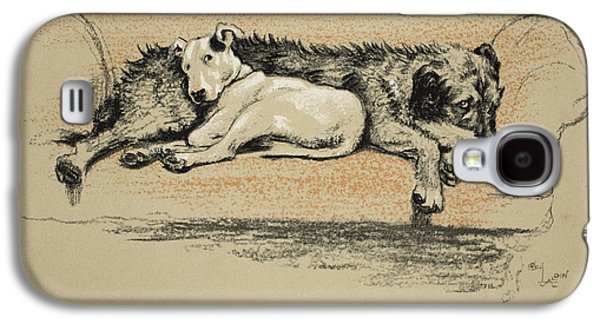 Black Dog Galaxy S4 Cases - Probation, 1930, 1st Edition Galaxy S4 Case by Cecil Charles Windsor Aldin