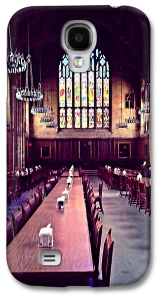 Old Glass Galaxy S4 Cases - Procter Hall at Princeton University Galaxy S4 Case by Anna Porter