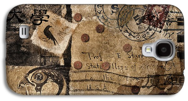 Fictional Galaxy S4 Cases - Professor Starr Galaxy S4 Case by Carol Leigh