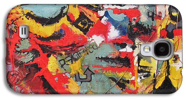 Disorder Paintings Galaxy S4 Cases - Progress and Psychosis Galaxy S4 Case by J Ethan Hopper