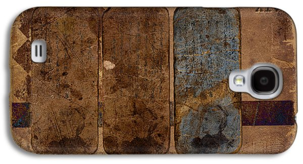 Cardboard Galaxy S4 Cases - Proof XIV Galaxy S4 Case by Carol Leigh