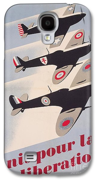 Propaganda Poster For Liberation From World War II Galaxy S4 Case by Anonymous