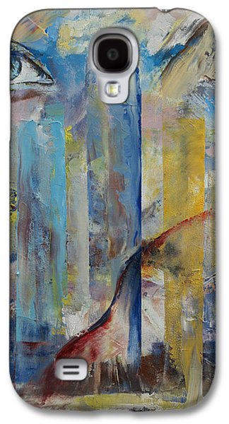 Surrealistic Paintings Galaxy S4 Cases - Prophet Galaxy S4 Case by Michael Creese