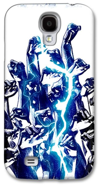 Frederico Borges Galaxy S4 Cases - Protest the power Galaxy S4 Case by Frederico Borges