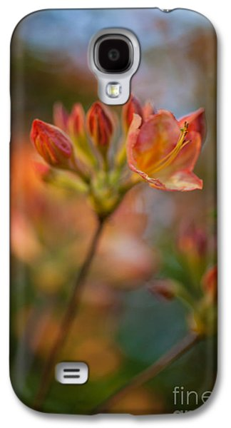 Rhododendron Galaxy S4 Cases - Proud Orange Blossoms Galaxy S4 Case by Mike Reid