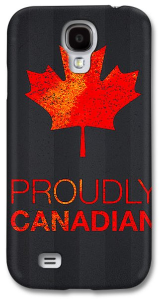 Concept Mixed Media Galaxy S4 Cases - Proudly Canadian Galaxy S4 Case by Aged Pixel