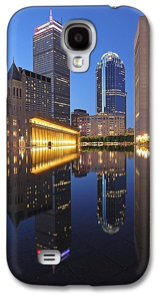 Home Improvement Galaxy S4 Cases - Prudential Center at Night Galaxy S4 Case by Juergen Roth