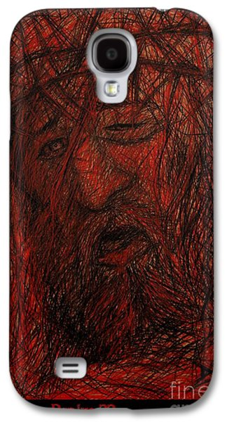 Digital Abstract Drawings Galaxy S4 Cases - Psalm 22 Galaxy S4 Case by Dale Crum