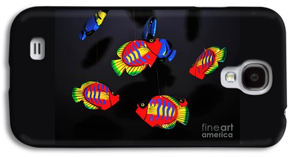 Psychedelic Flying Fish Galaxy S4 Case by Kaye Menner