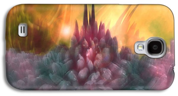 Abstract Expression Galaxy S4 Cases - Psychedelic Tendencies   Galaxy S4 Case by Linda Sannuti