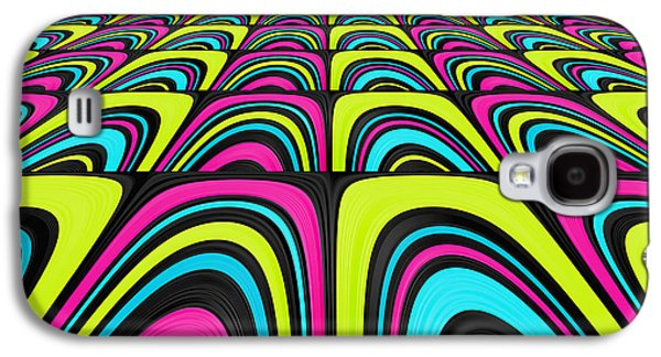 Psychedelic Galaxy S4 Cases - Psychel - 003 Galaxy S4 Case by Variance Collections