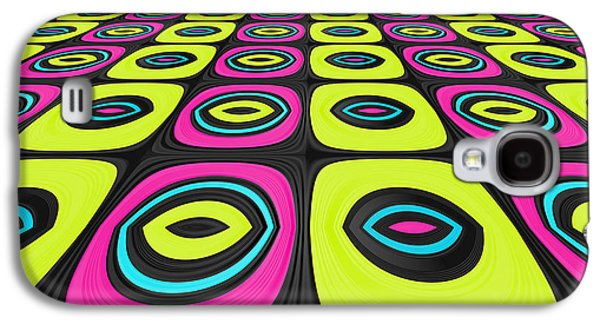 Psychedelic Galaxy S4 Cases - Psychel - 005 Galaxy S4 Case by Variance Collections