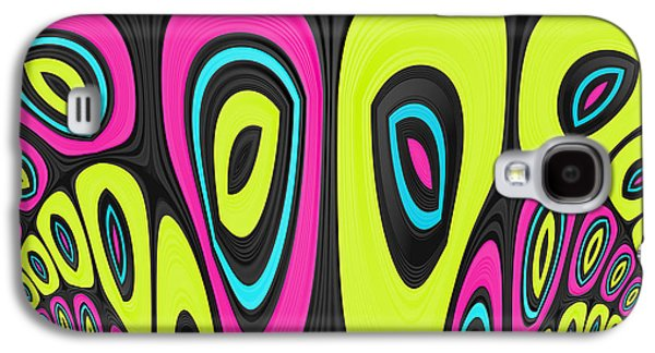 Psychedelic Galaxy S4 Cases - Psychel - 006 Galaxy S4 Case by Variance Collections