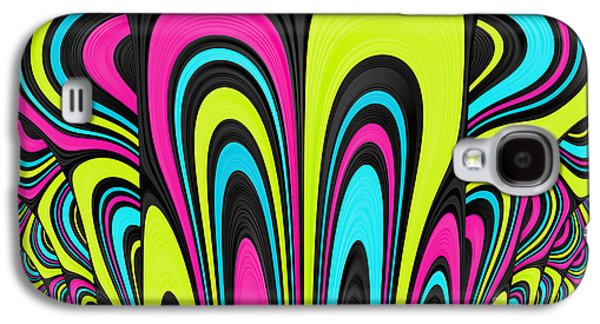 Psychedelic Galaxy S4 Cases - Psychel - 007 Galaxy S4 Case by Variance Collections