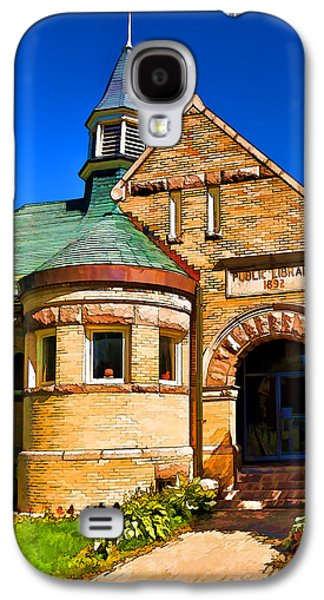 Photo Manipulation Galaxy S4 Cases - Public Library 1892 - 1 Galaxy S4 Case by Bill Caldwell -        ABeautifulSky Photography